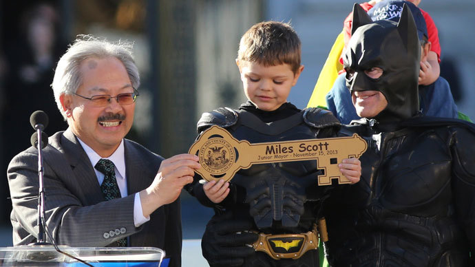 San Francisco turns into Gotham City for Batkid